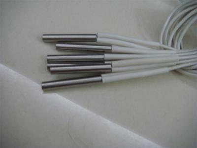 可测温单头电热管